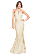 Bari Jay Bridesmaid Dress 2003 -Champagne