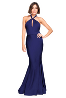 Bari Jay Bridesmaid Dress 2003 -Navy