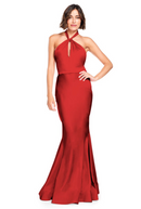 Bari Jay Bridesmaid Dress 2003 -Red