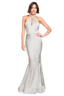 Bari Jay Bridesmaid Dress 2003 -Silver