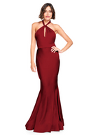 Bari Jay Bridesmaid Dress 2003 -Wine