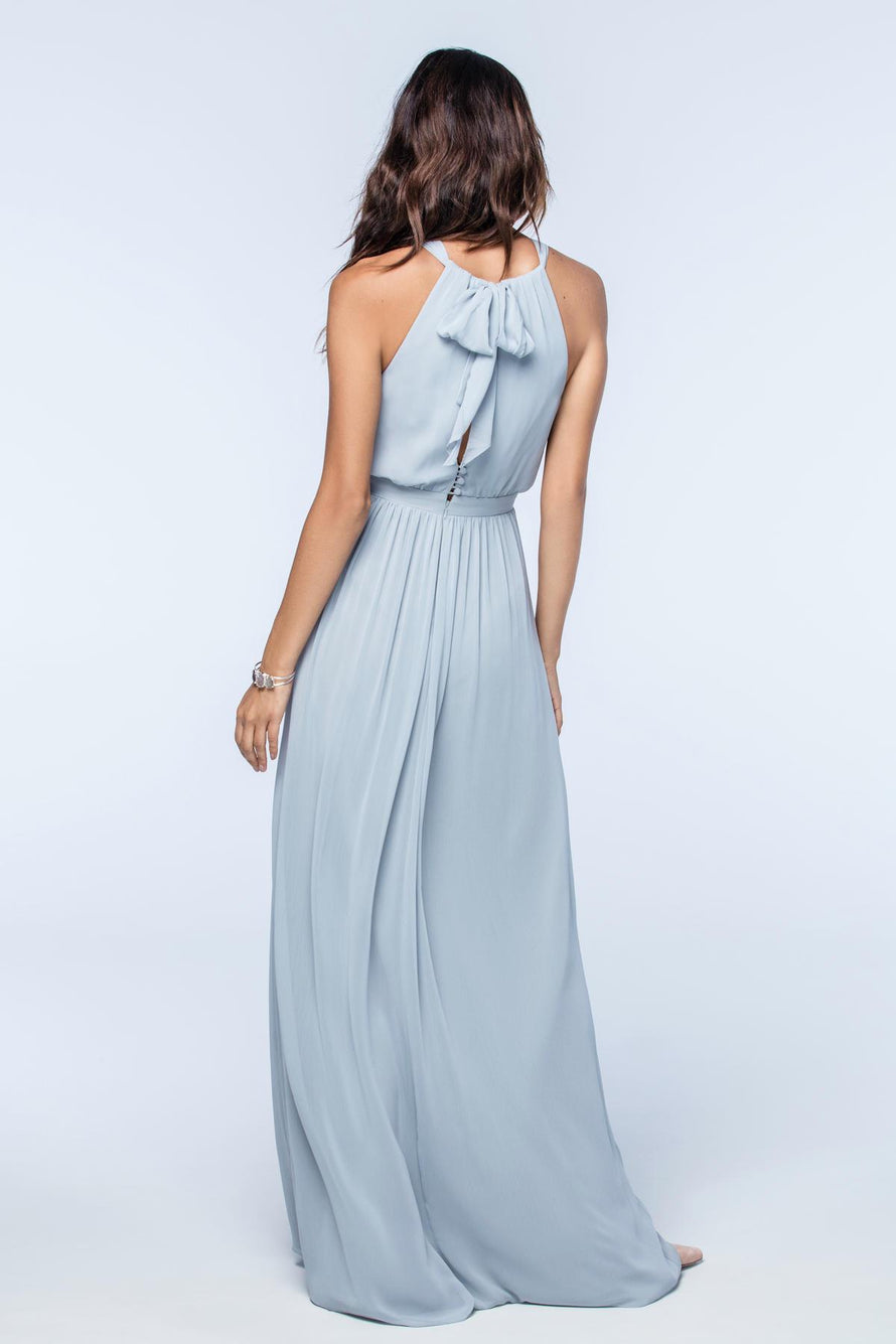 Watters Bridesmaid Dress Fleurette back