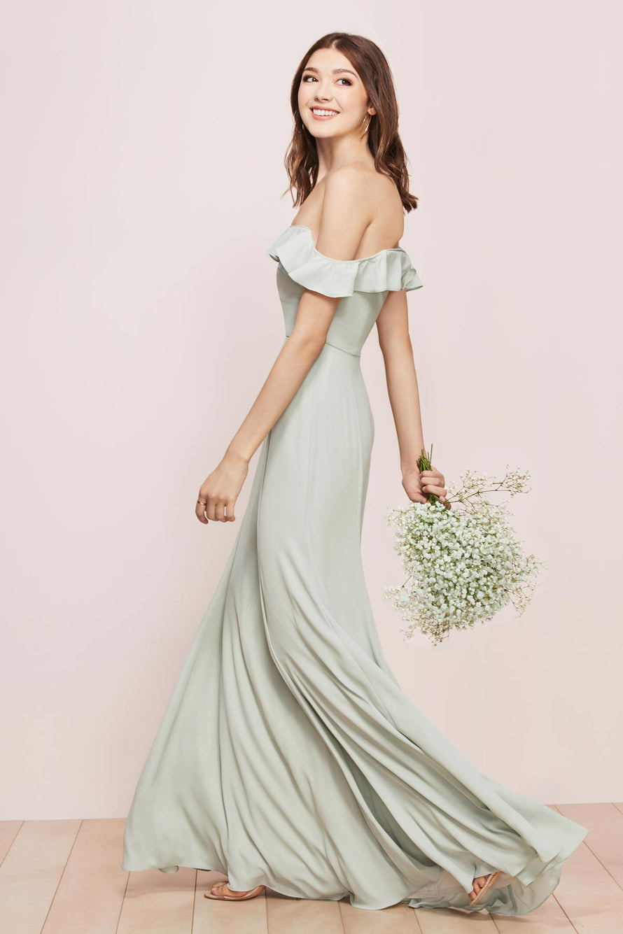 Wtoo by Watters Bridesmaid Dress Isabella back
