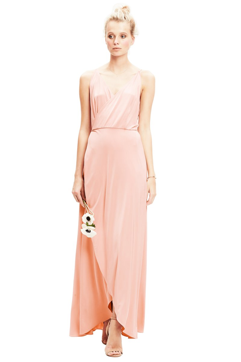Blush-Twobirds Bridesmaid Dress Lily
