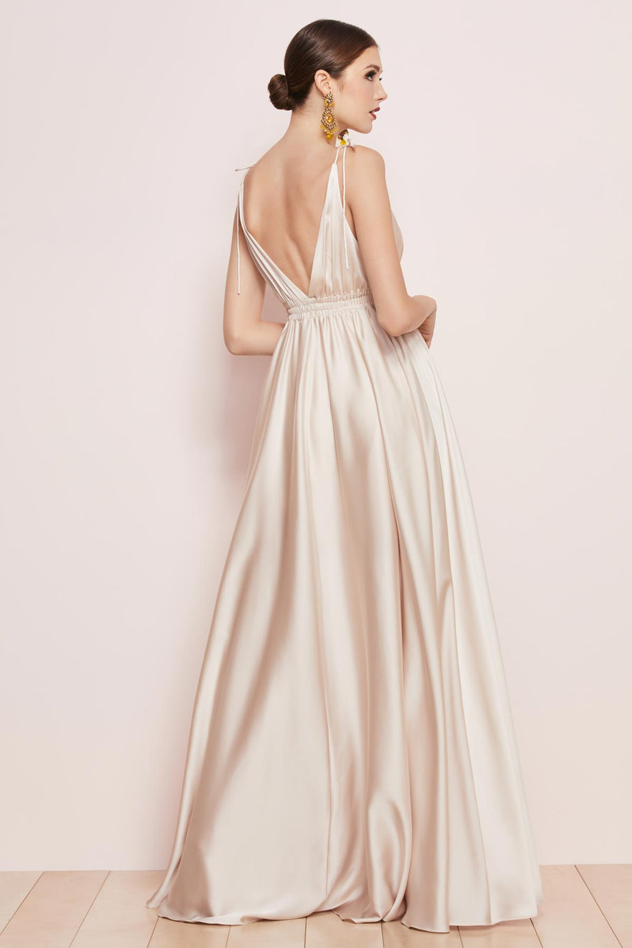 Watters Bridesmaid Dress Quentin back