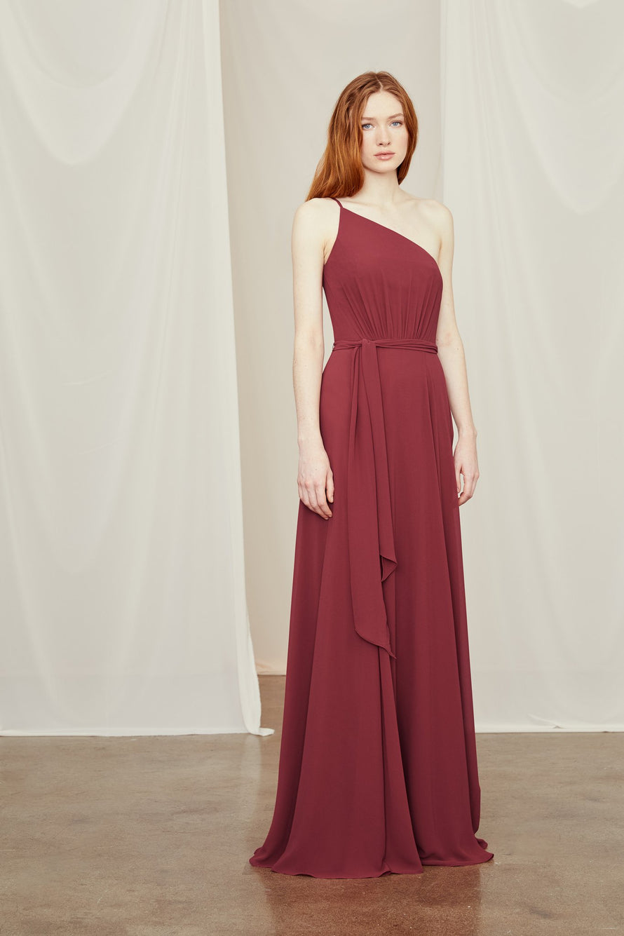Amsale Long Bridesmaid Dress Rani