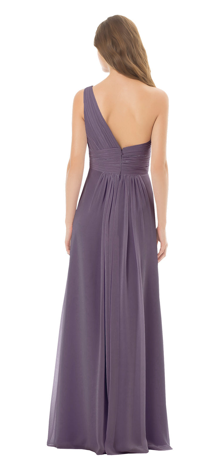 Bill Levkoff Bridesmaid Dress Style 492 back