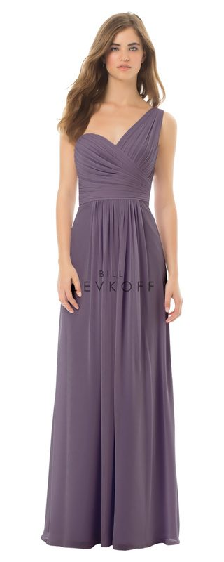 Bill Levkoff Bridesmaid Dress Style 492 front