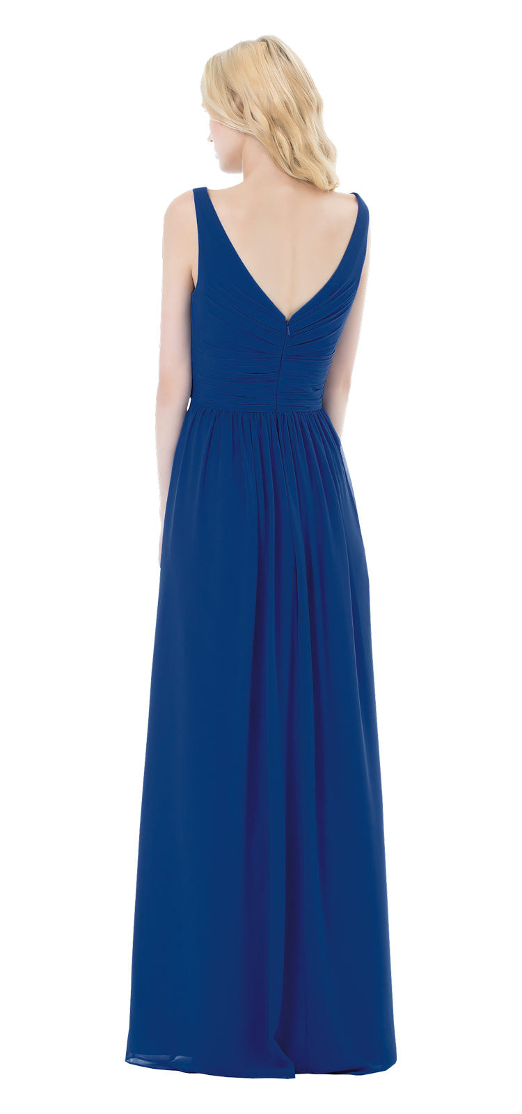 Bill Levkoff Bridesmaid Dress Style 498 back