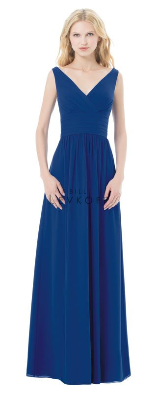 Bill Levkoff Bridesmaid Dress Style 498 front