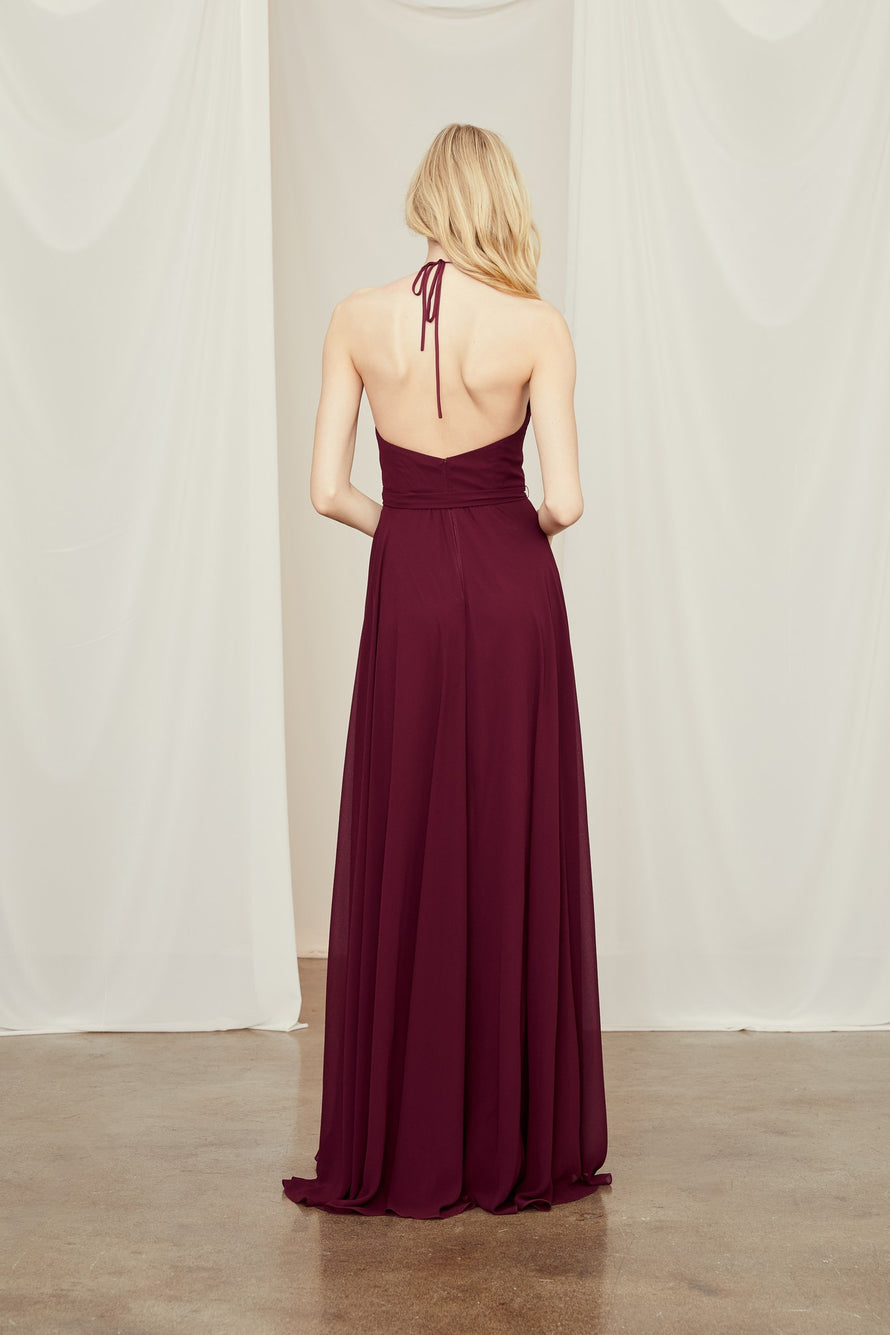 Amsale Long Bridesmaid Dress Daryn