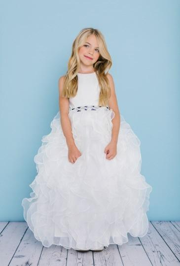 Rosebud Fashions Flower Girl Dress Style 5122