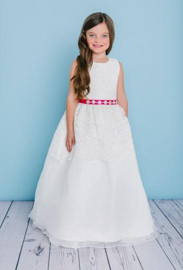 Rosebud Fashions Flower Girl Dress Style 5125