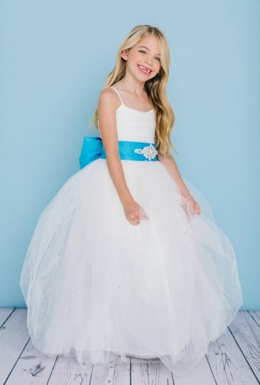 Rosebud Fashions Flower Girl Dress Style 5130