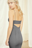 Amsale Long Bridesmaid Dress Jade