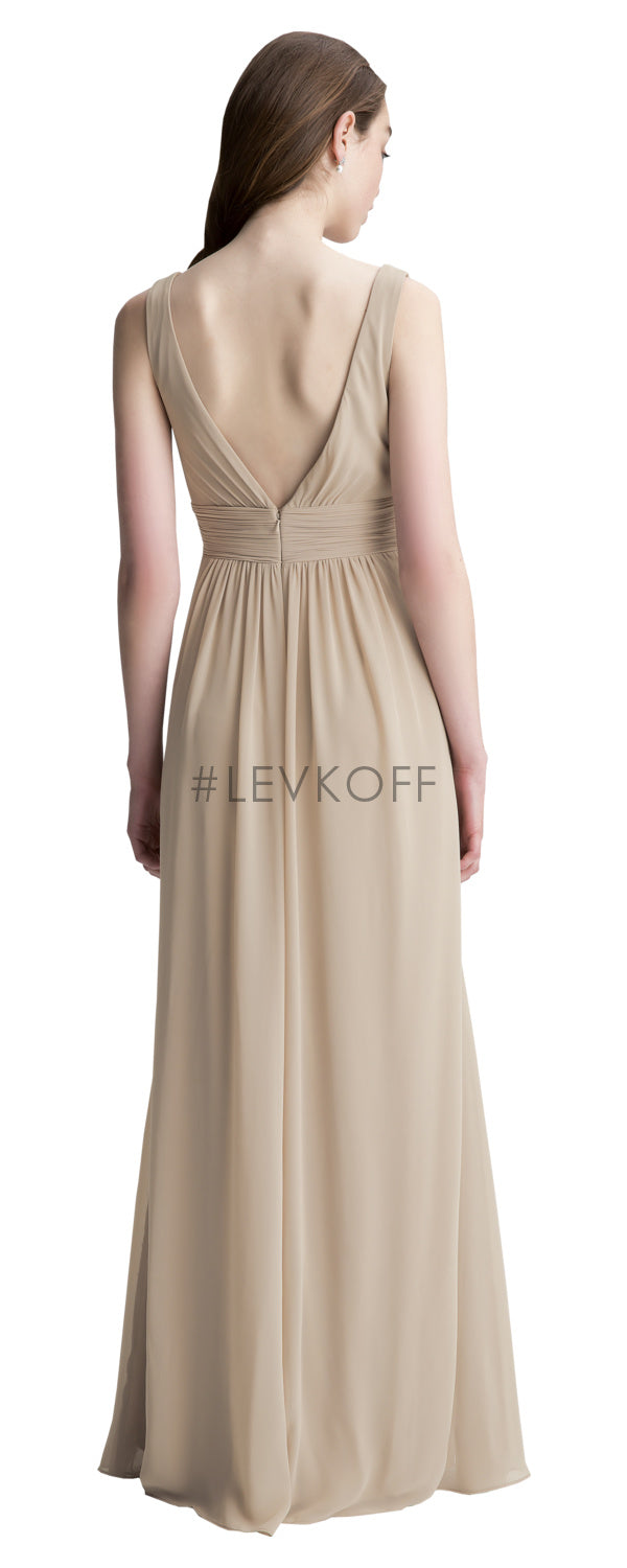 #LEVKOFF Bridesmaid Dress Style 7004 back