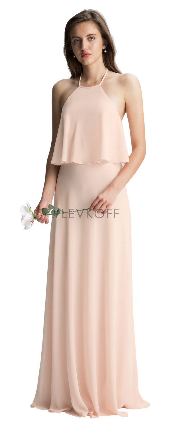 #LEVKOFF Bridesmaid Dress Style 7006 front