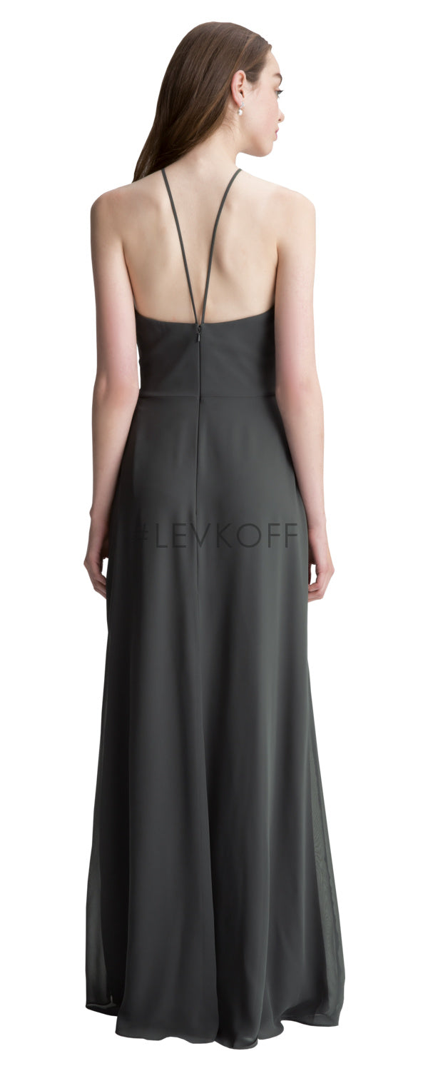 #LEVKOFF Bridesmaid Dress Style 7007 back