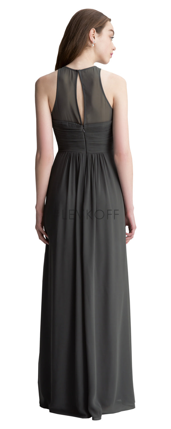 #LEVKOFF Bridesmaid Dress Style 7010 back