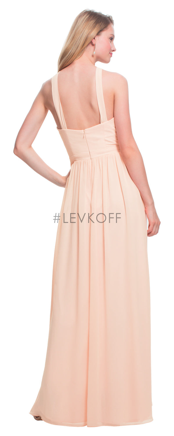 #LEVKOFF Bridesmaid Dress Style 7025 back