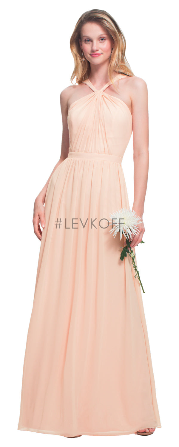#LEVKOFF Bridesmaid Dress Style 7025 front