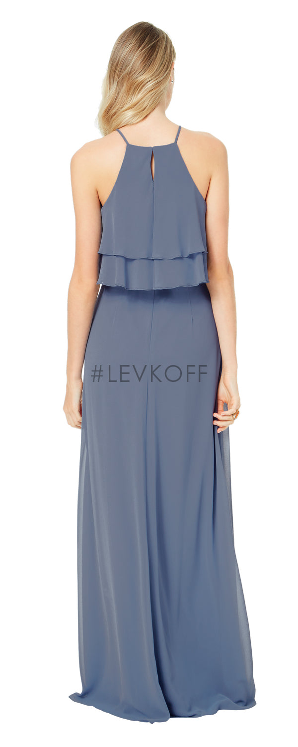 #LEVKOFF Bridesmaid Dress Style 7030 back