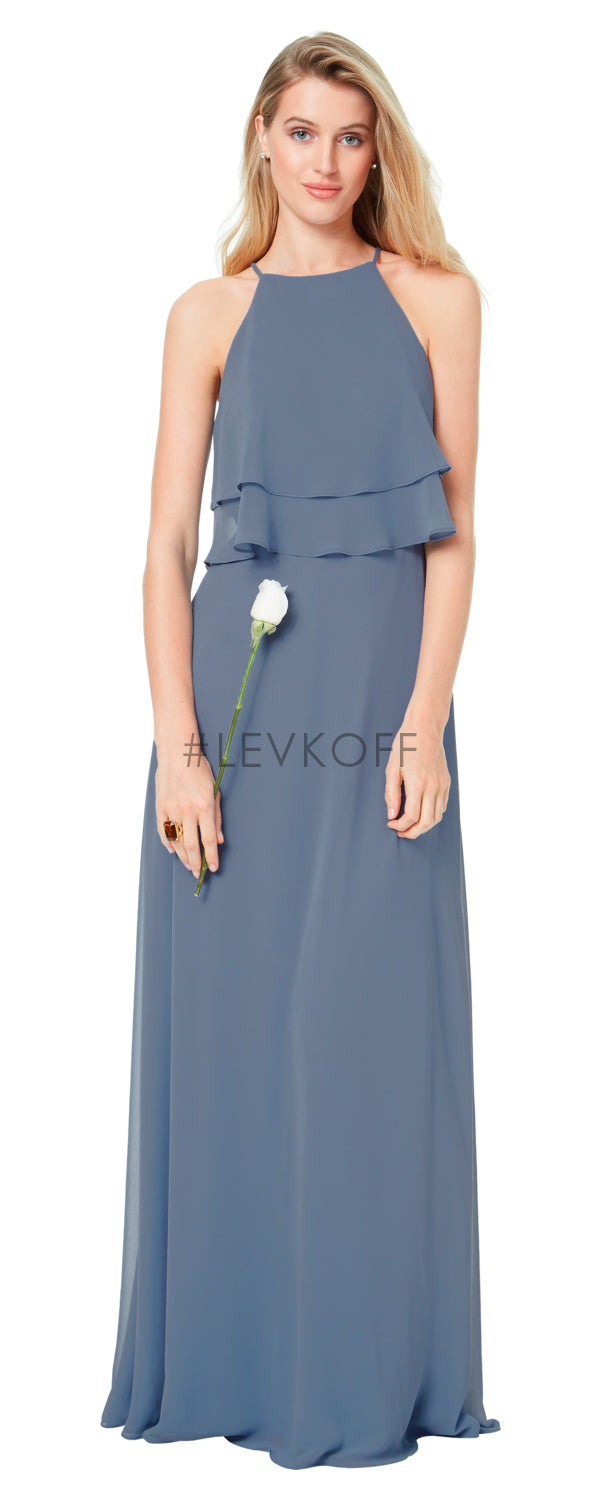 #LEVKOFF Bridesmaid Dress Style 7030 front