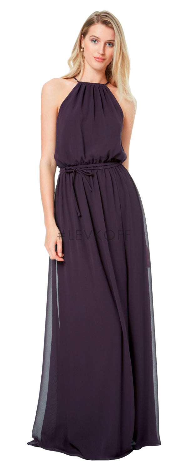 #LEVKOFF Bridesmaid Dress Style 7037 front
