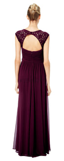 #LEVKOFF Bridesmaid Dress Style 7045 back
