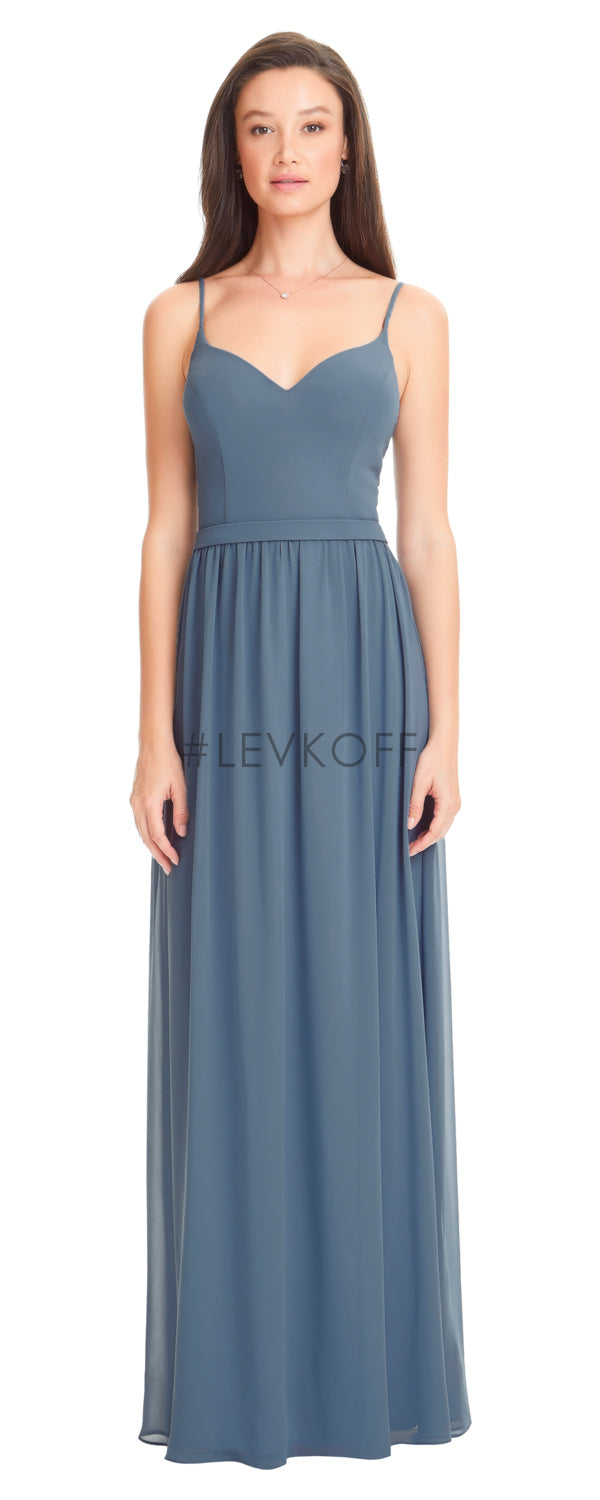 #LEVKOFF Bridesmaid Dress Style 7052 front