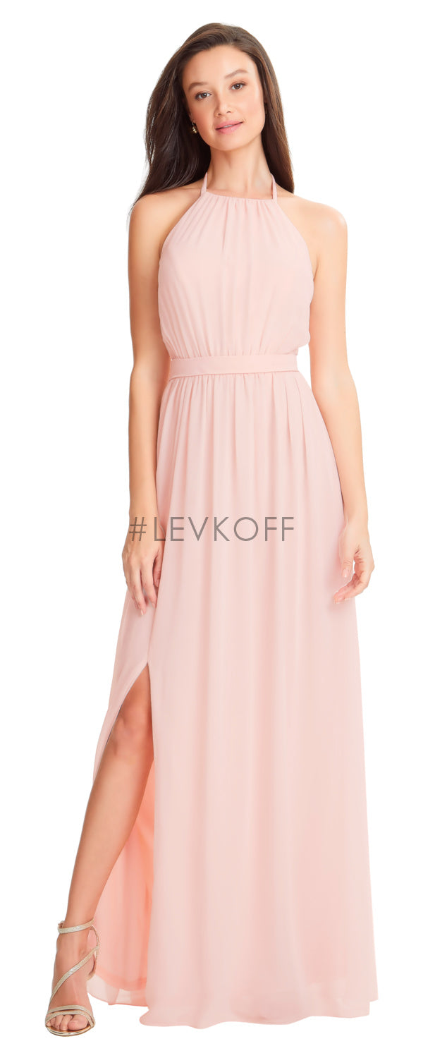 #LEVKOFF Bridesmaid Dress Style 7053 front