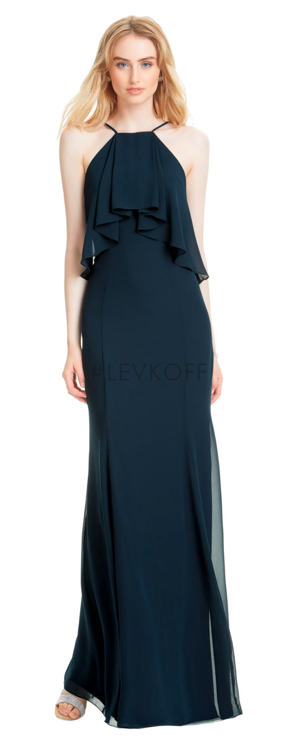 #LEVKOFF Bridesmaid Dress Style 7055