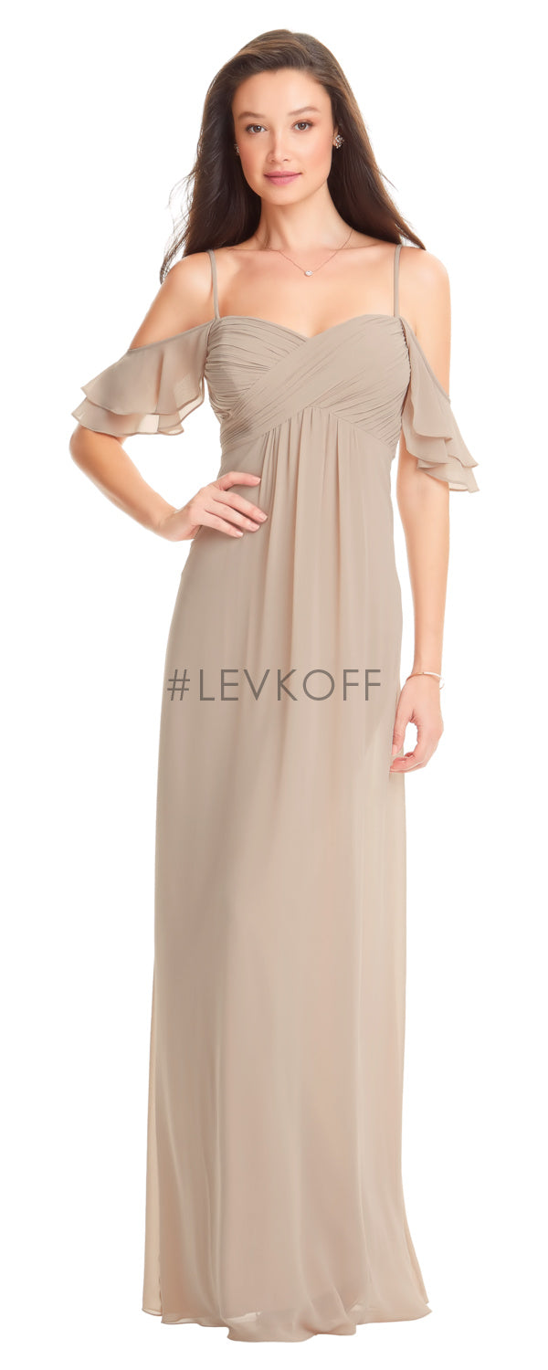 #LEVKOFF Bridesmaid Dress Style 7057 front