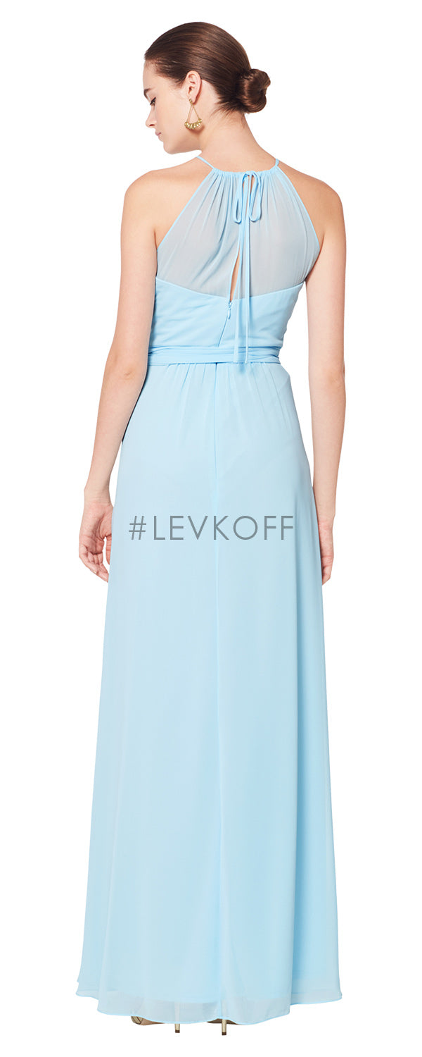 #LEVKOFF Bridesmaid Dress Style 7070 back