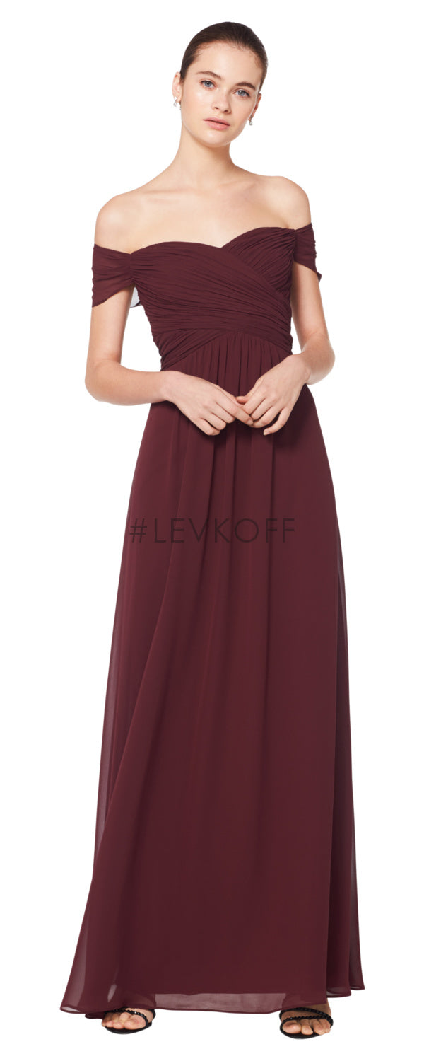 #LEVKOFF Bridesmaid Dress Style 7071 front
