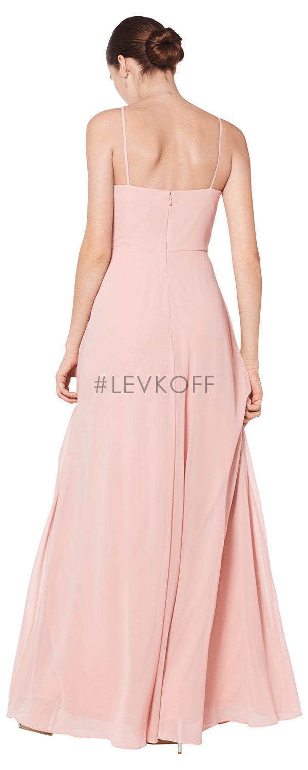 #LEVKOFF Bridesmaifd Dress Style 7072 back