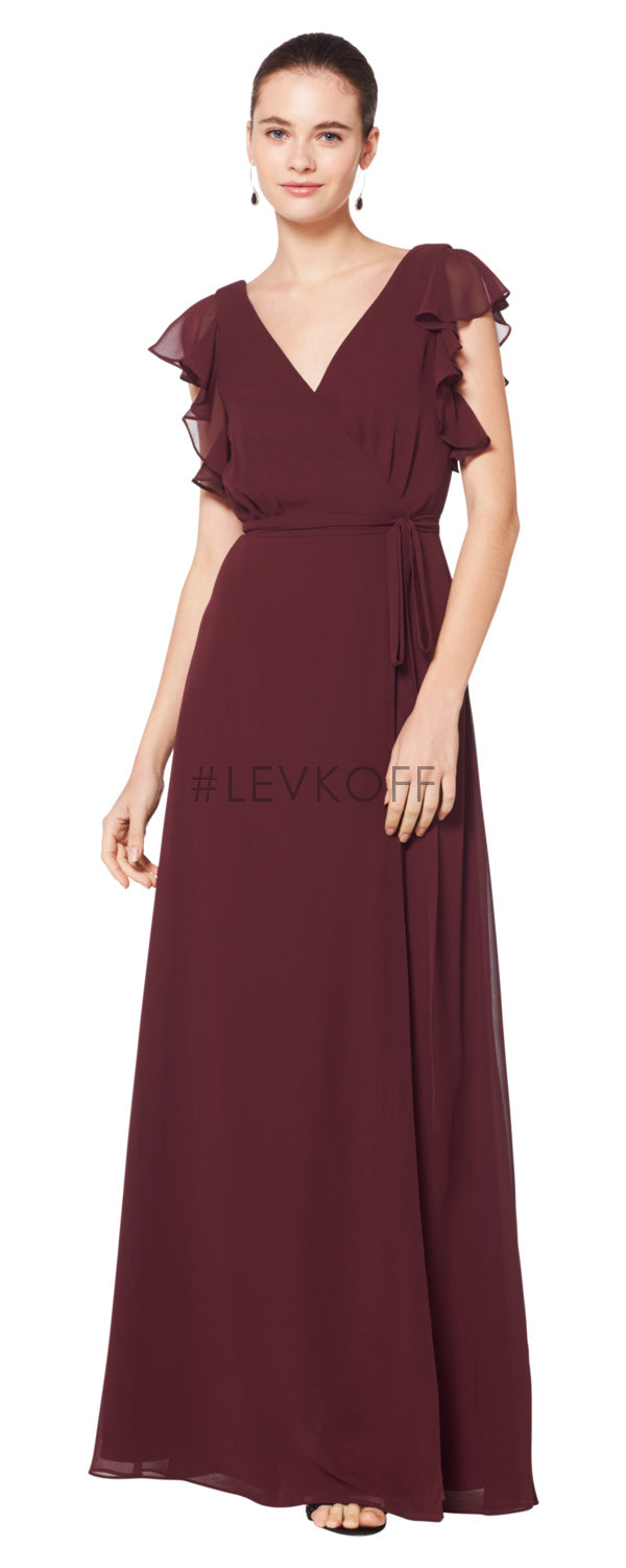 #LEVKOFF Bridesmaid Dress Style 7077 front