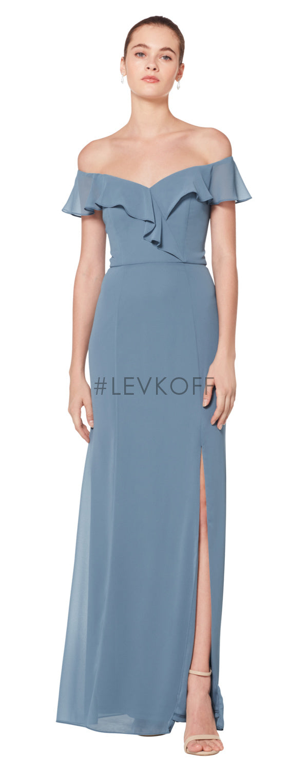 #LEVKOFF Bridesmaid Dress Style 7080 front