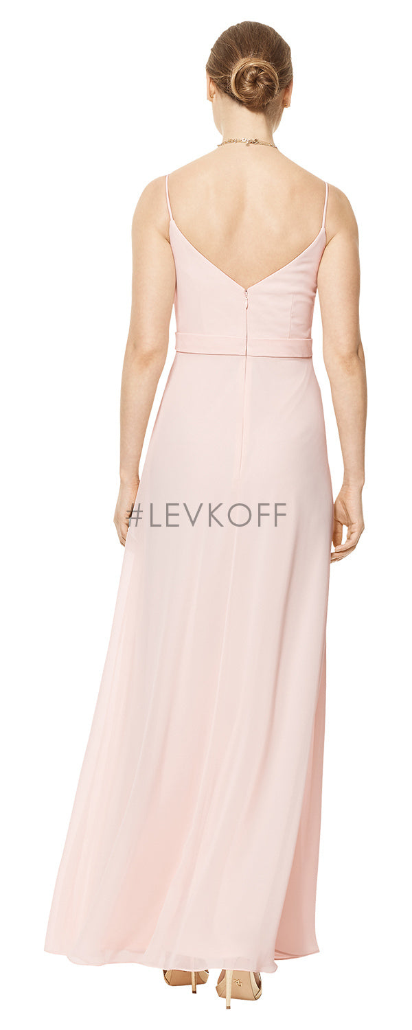 #LEVKOFF Bridesmaid Dress Style 7105 back