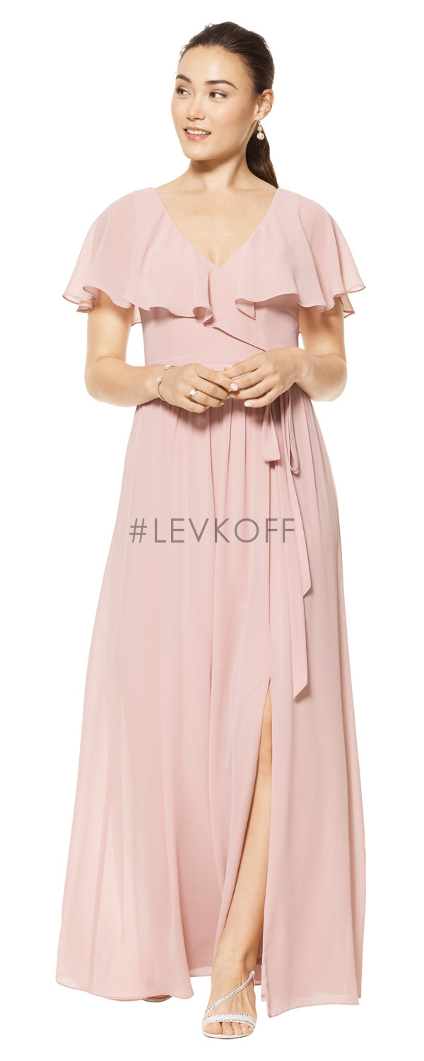 #LEVKOFF Bridesmaid Dress Style 7106 front