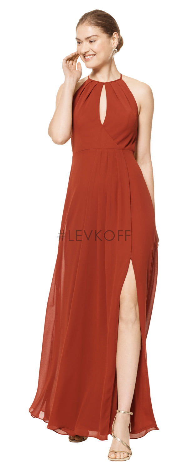 #LEVKOFF Bridesmaid Dress Style 7107 front