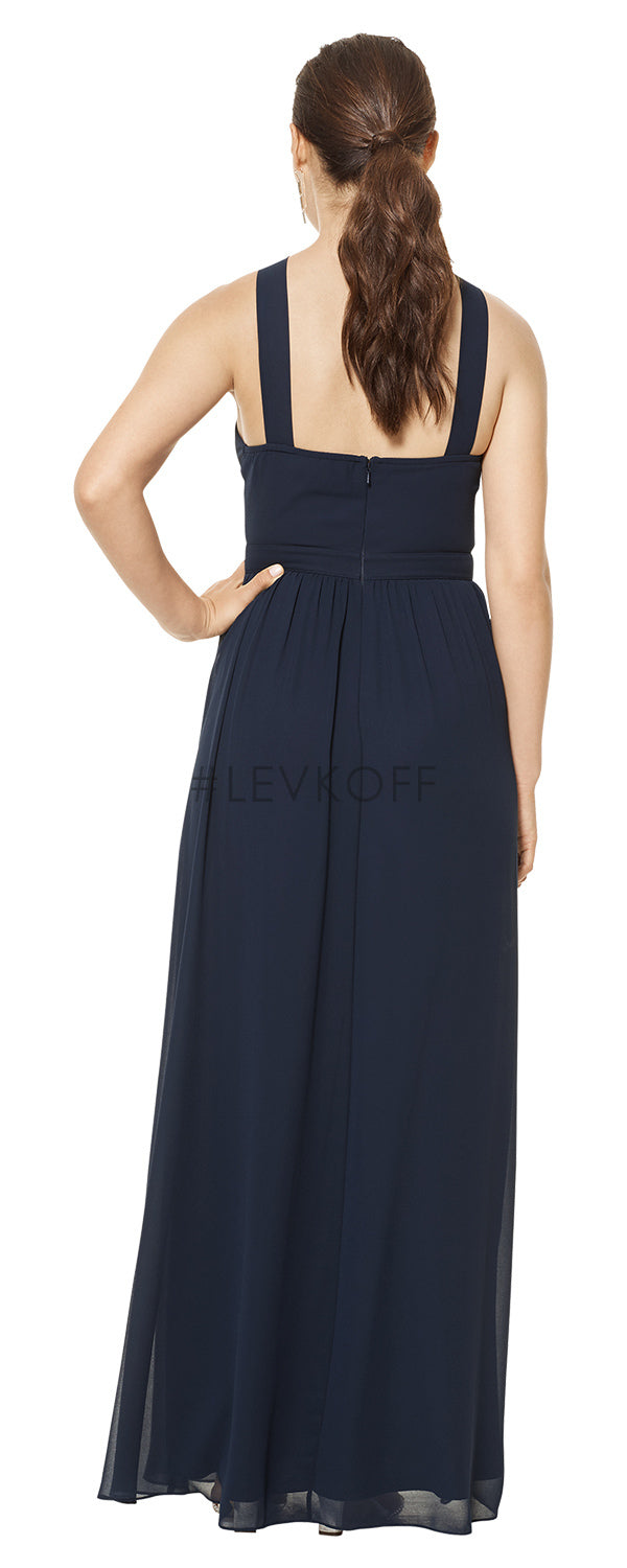 #LEVKOFF Bridesmaid Dress Style 7110 back