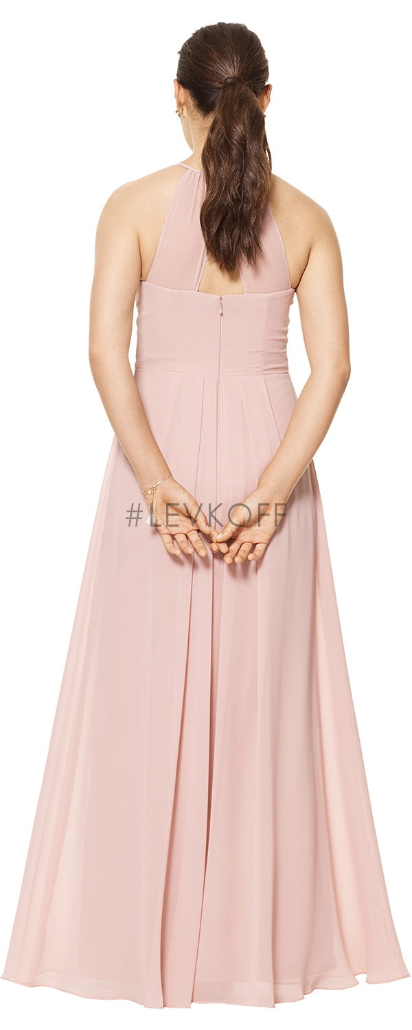 #LEVKOFF Bridesmaid Dress Style 7111 back