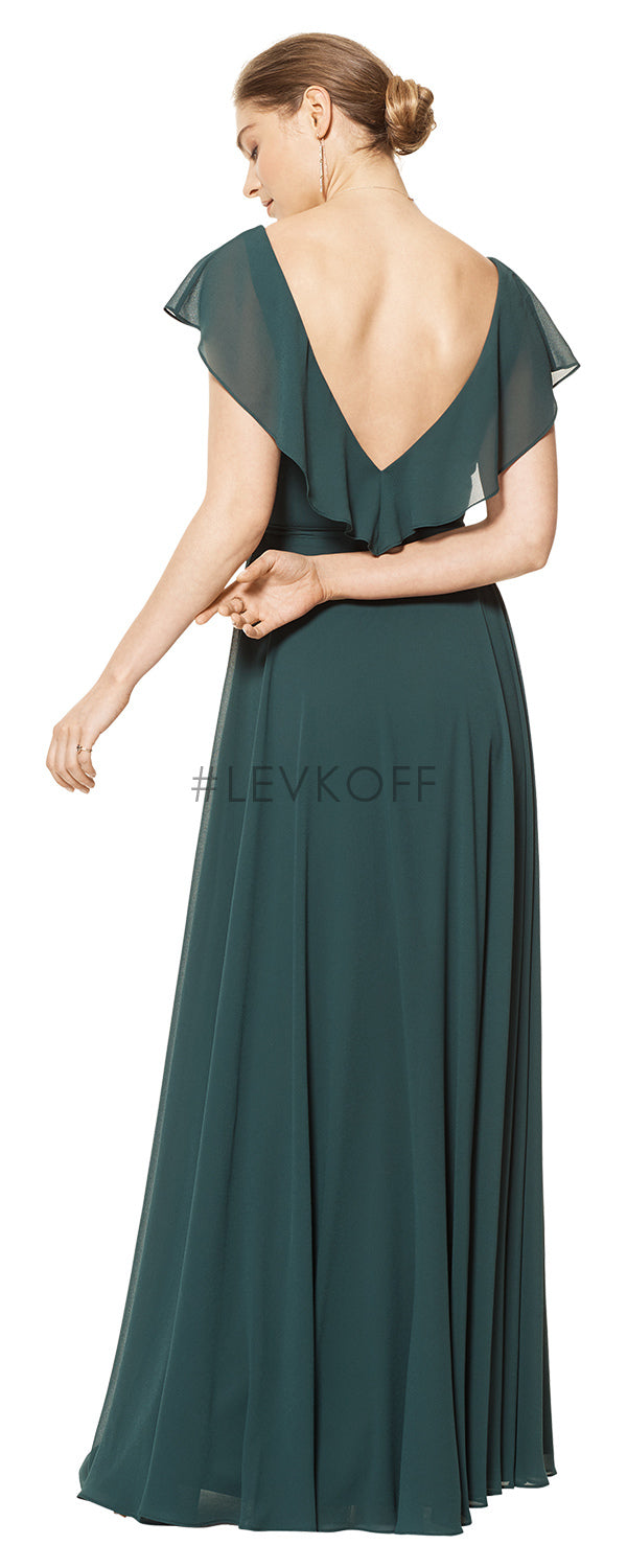 #LEVKOFF Bridesmaid Dress Style 7112 back