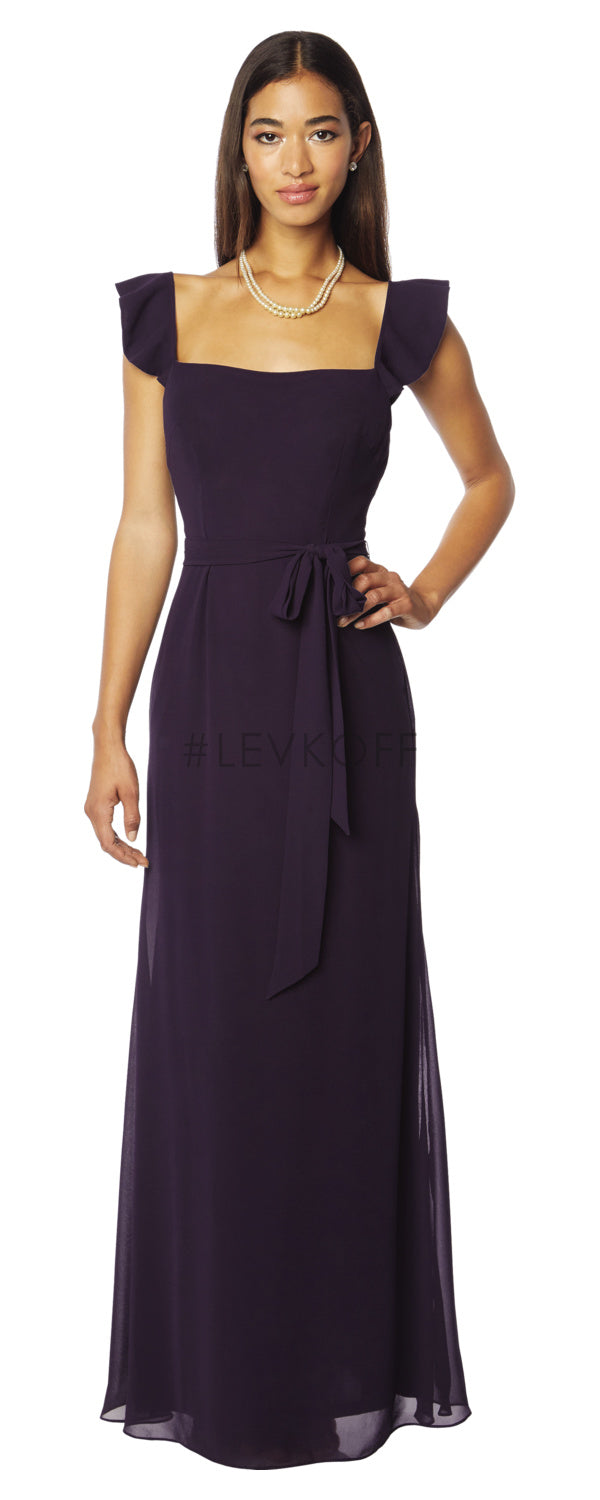 #LEVKOFF Bridesmaid Dress Style 7122 front