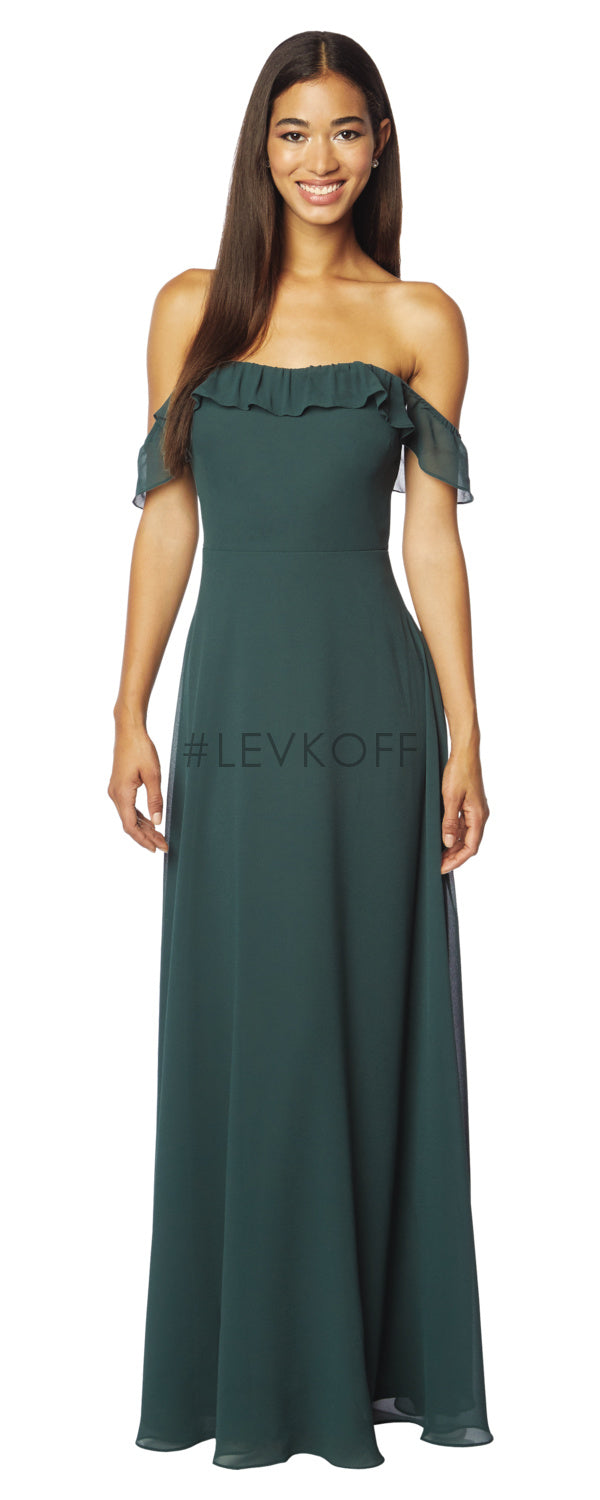 #LEVKOFF Bridesmaid Dress Style 7123 front
