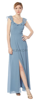 #LEVKOFF Bridesmaid Dress Style 7125 front