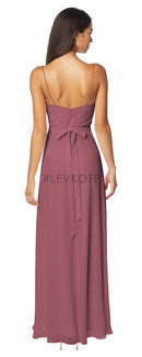 #LEVKOFF Bridesmaid Dress Style 7133 back