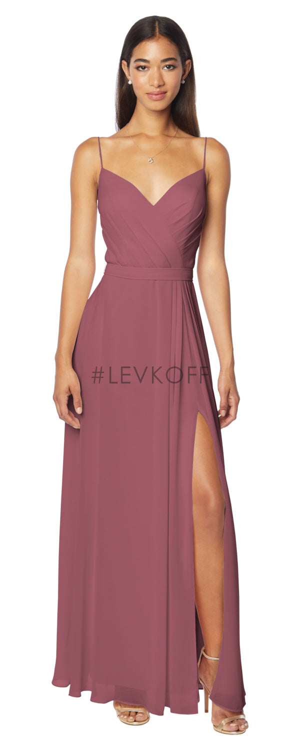 #LEVKOFF Bridesmaid Dress Style 7133 front