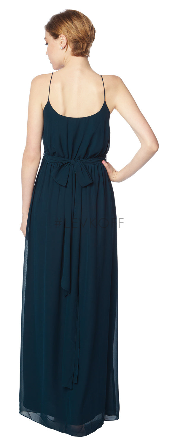 #LEVKOFF Bridesmaid Dress Style 7134 back